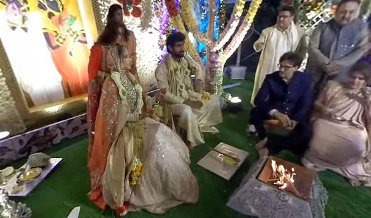Wait is over! Rana Daggubati and Miheeka Bajaj tie the knot in private wedding; see pics