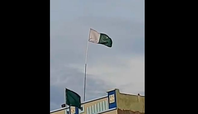 Farukh Khan was arrested after Pakistan's national flag was allegedly hoisted at his home in Shipra village in Dewas district.