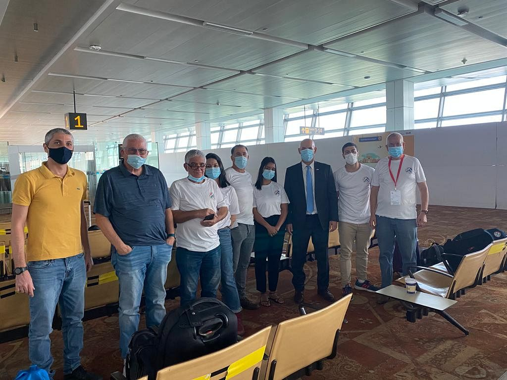 Israeli COVID-19 experts leave India after collecting samples