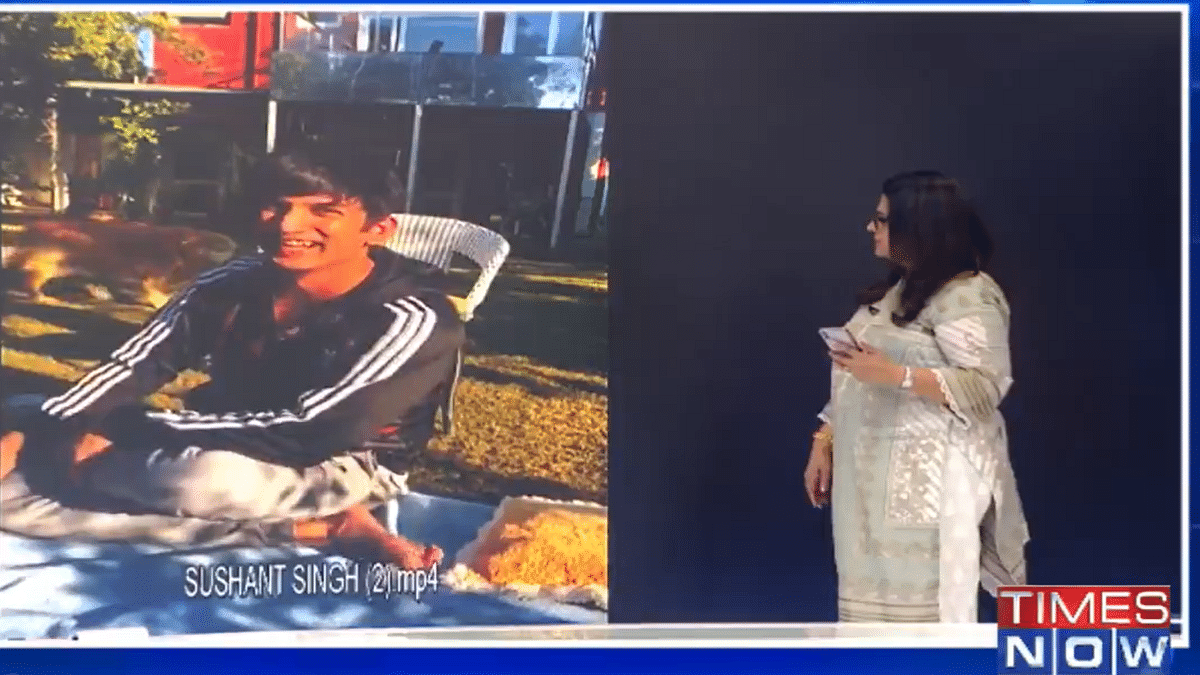 Times Now says no sign of depression on Sushant's face, brutally trolled