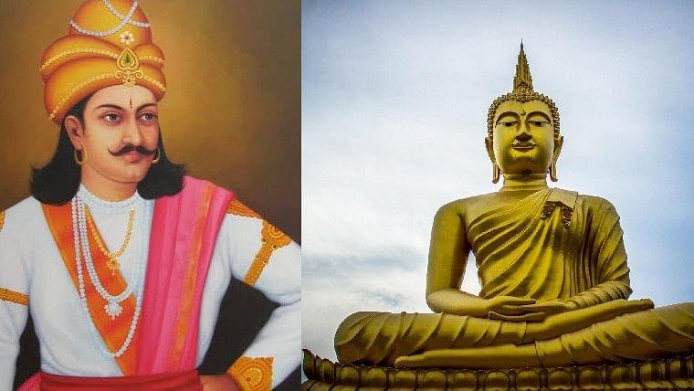 Emperor Ashoka and Lord Buddha