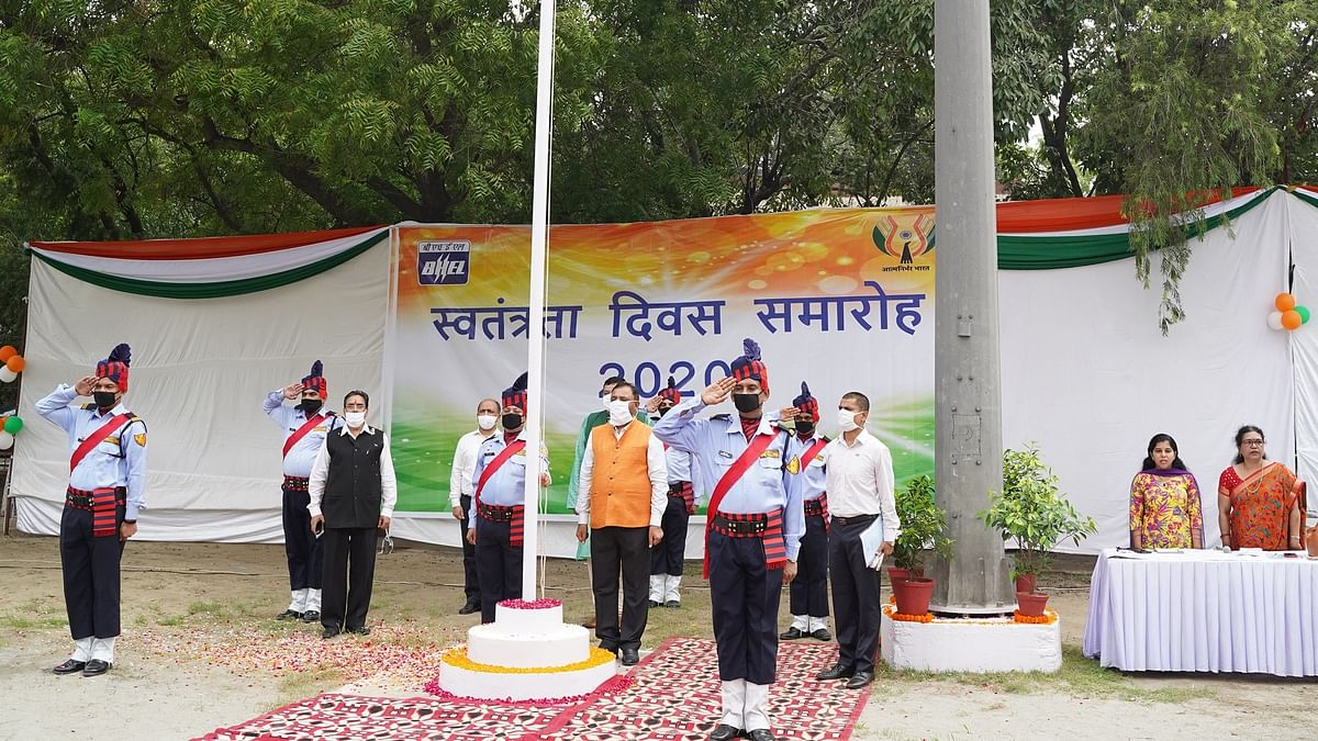 BHEL celebrates 74th Independence Day
