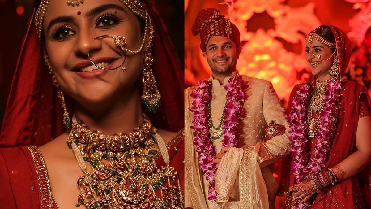 In Pics: 'Diya Aur Baati Hum' actress Prachi Tehlan treats fans with intimate moments from her wedding