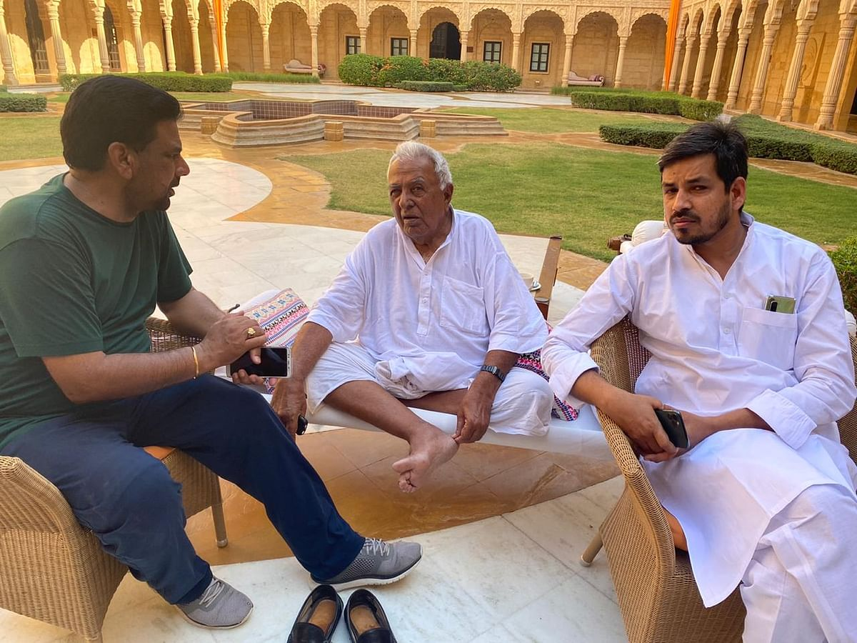 Time of crisis? Here's how Rajasthan Congress MLAs are spending time in Jaisalmer resort