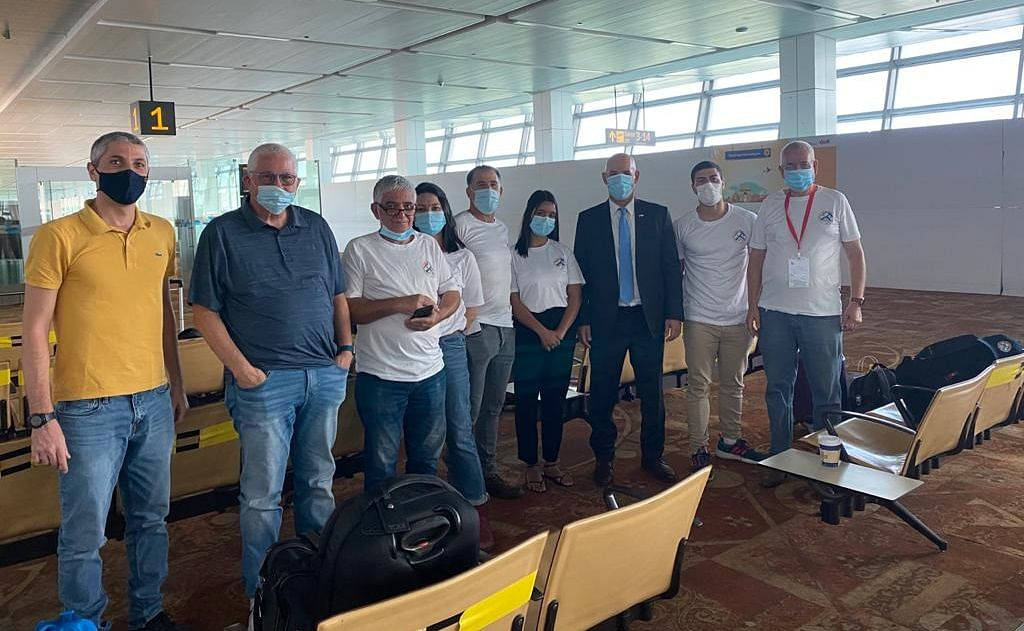 Israel's COVID-19 research delegation