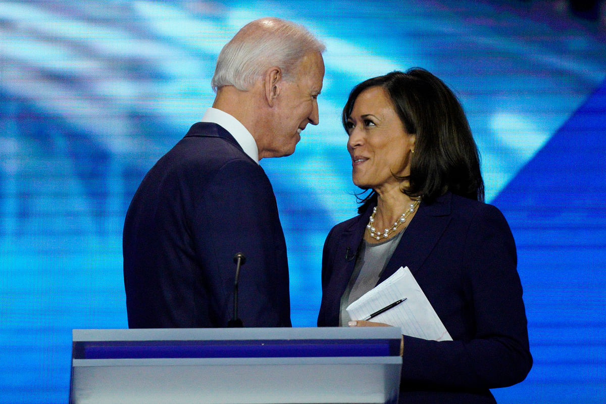 Gender Blunder: Joe Biden refers to Kamala Harris' husband as 'Kamala's wife'; Republicans mock awkward gaffe