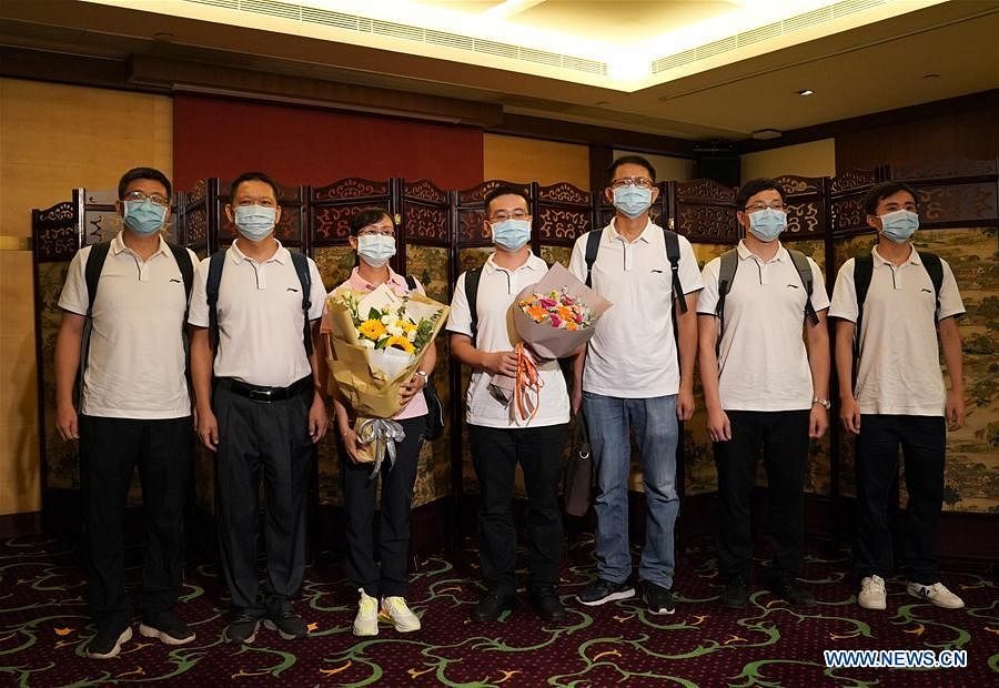 Virus testing professionals from mainland arrive in Hong Kong to help curb COVID-19 outbreak