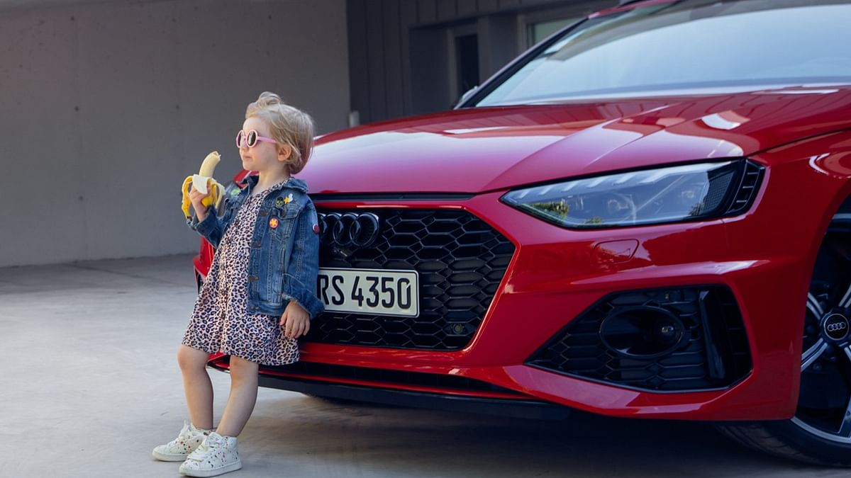 Twitter divided over Audi apologising for 'insensitive' ad of little girl eating a banana