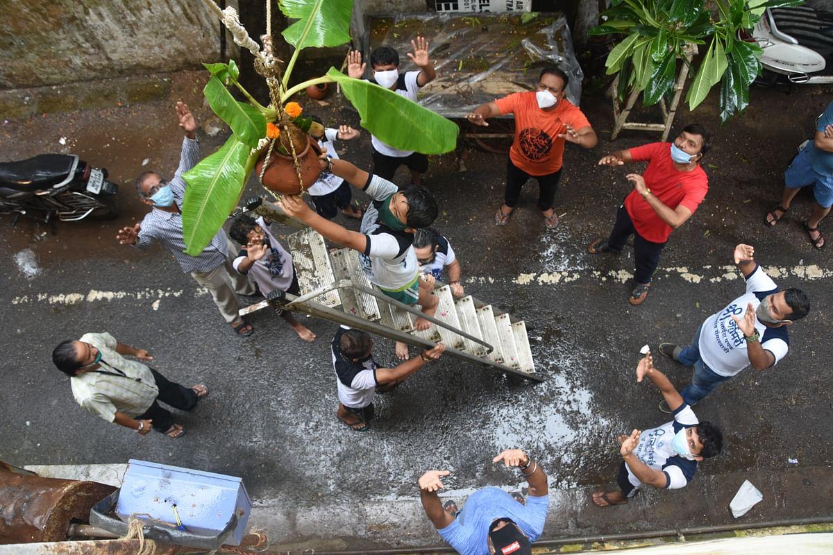 Pandemic throws water on Janmashtami celebrations in Mumbai