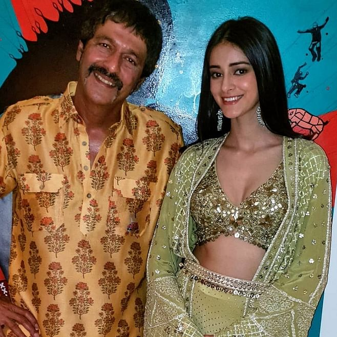 'Ananya, I will have a lot of fun if we work together,' says Chunky Panday