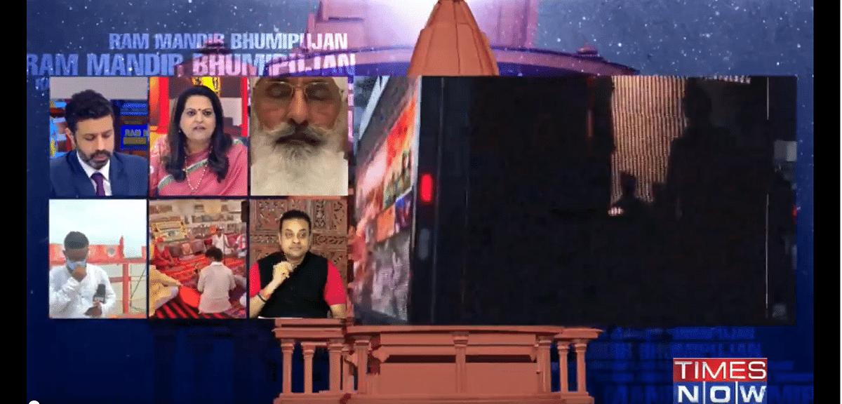 Watch: Navika Kumar and Sambit Patra's duet on live TV