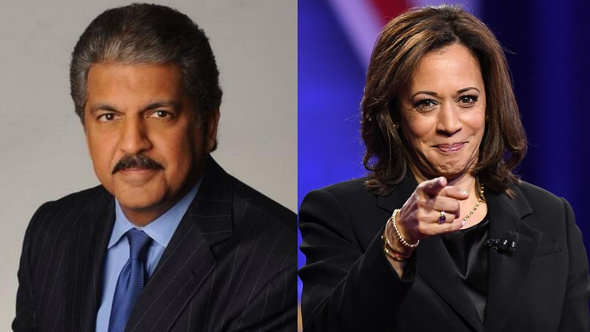 'Kamala isn't just of Indian descent': Anand Mahindra on Indians claiming the US VP nominee as 'our own'