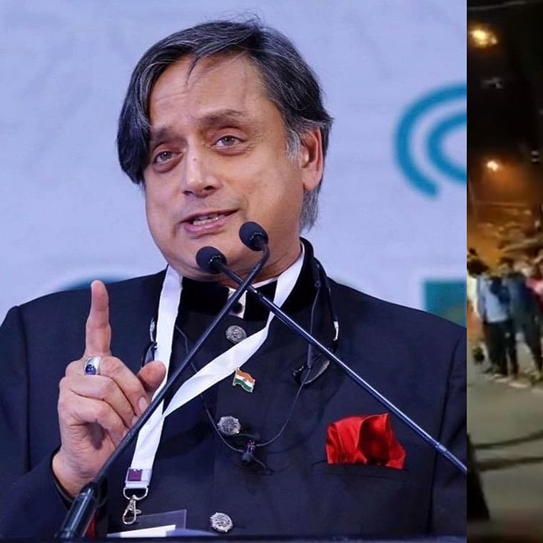 Bengaluru Riots: Shashi Tharoor shares video of Muslims protecting temple, Twitterati wonder if mob was 'taoist'