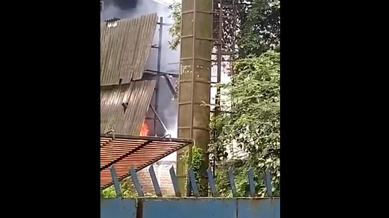 Fire breaks out at chemical company in Dombivli