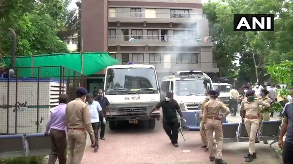 8 dead after fire breaks out COVID-19 hospital in Ahmedabad
