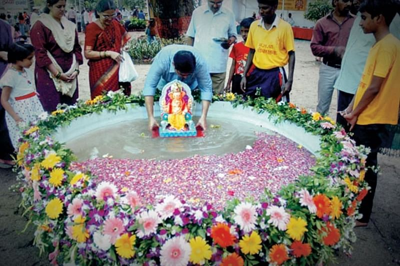 NMMC to create a large number of artificial ponds for Ganpati festival