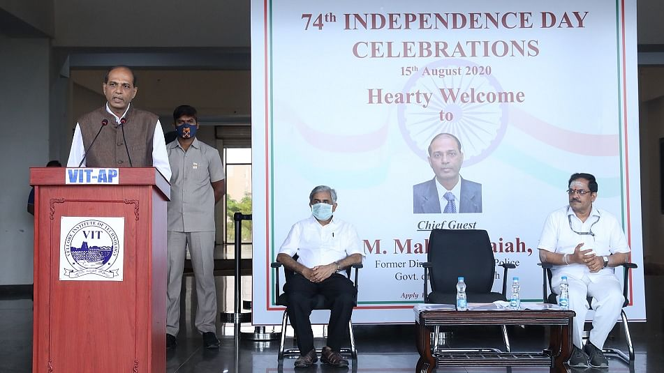 VIT-AP University celebrates I-Day