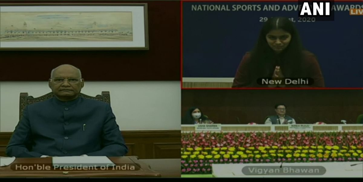 National Sports Day 2020: President  Kovind honours sportspersons with Khel Ratna and Arjuna awards virtually