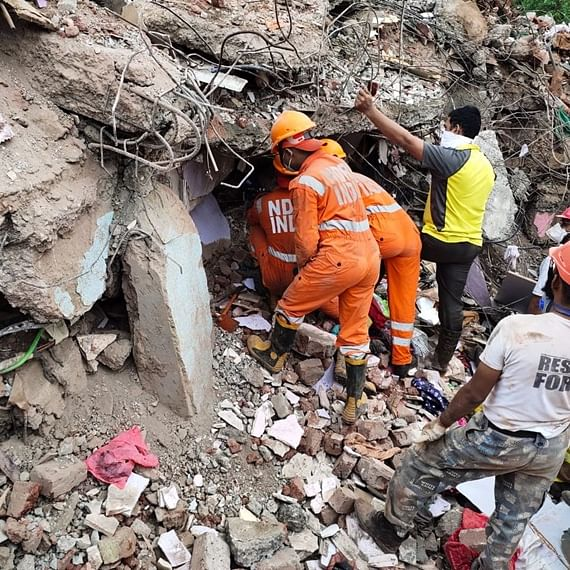 Raigad Building Collapse: Death toll rises to 11