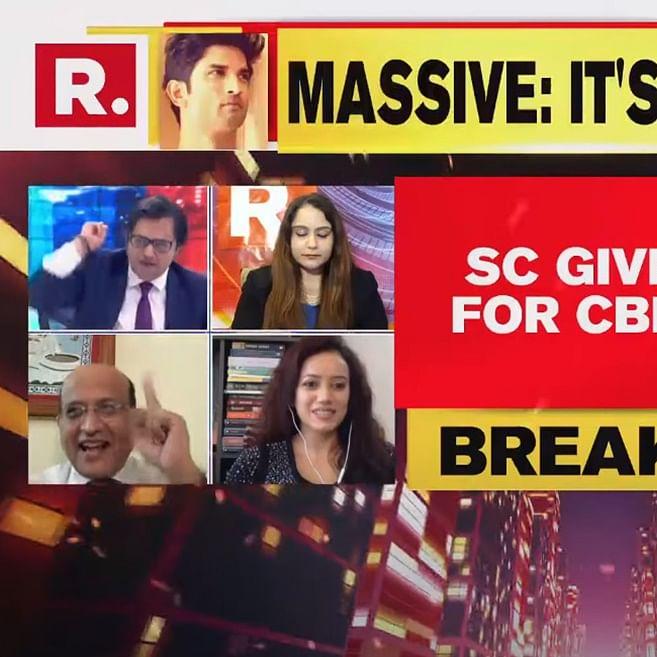 After SC verdict in Sushant's case, exuberant Arnab Goswami asks Mumbai Police commissioner to resign!
