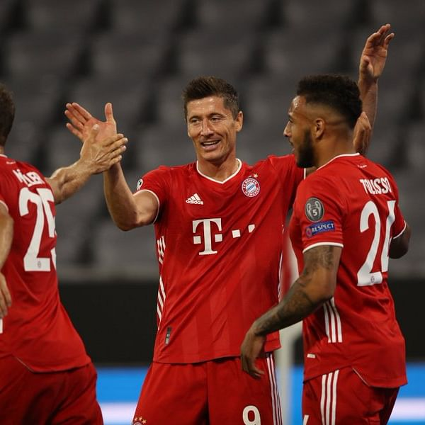 UEFA Champions League highlights: Lewandowski stars as Bayern Munich hammer Chelsea to reach quarter finals - check out key stats from the game