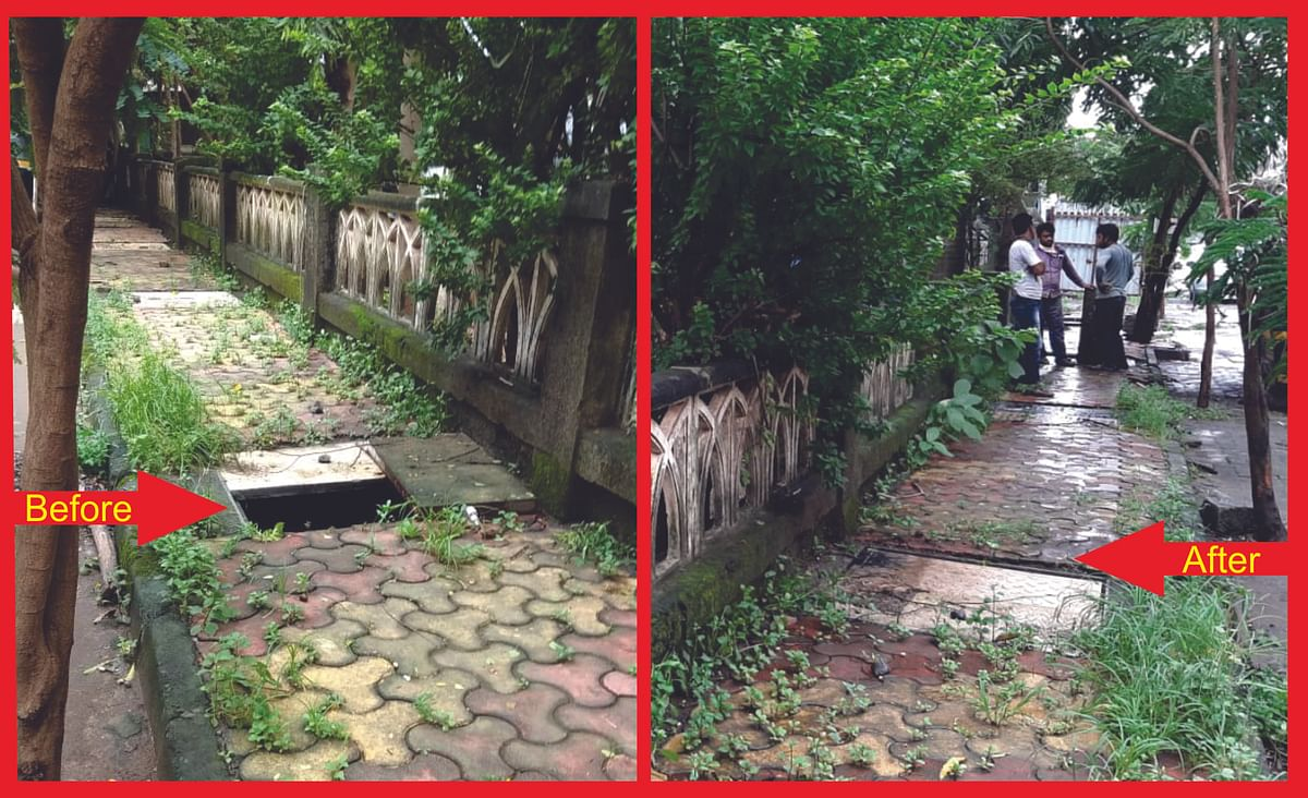 FPJ Impact: MBMC covers open and broken manholes in Mira Bhayandar