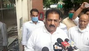 Rajasthan Minister Pratap Singh Khachariyawas appears at ED's office in money laundering case