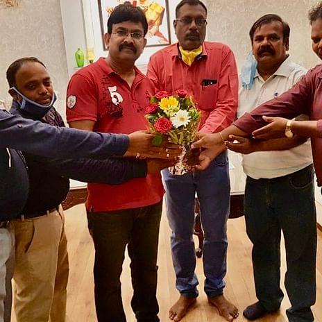 P Raju elected as President of Bhopal Tamil Sangam