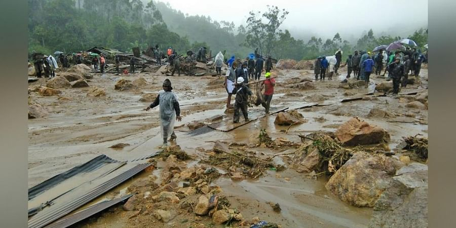 Kerala landslide wipes outentire settlement in replay