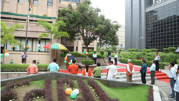 EdCIL celebrates 74th Independence Day