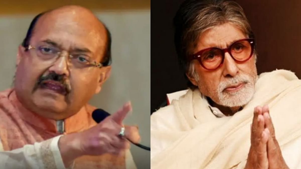Rajya Sabha MP Amar Singh passes away - A look back at his friendship and feud with Amitabh Bachchan