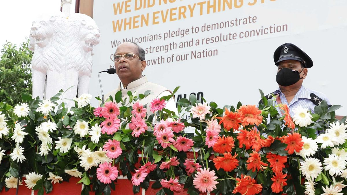 Nalco celebrates 74th Independence Day