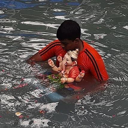 Ganeshotsav 2020: 36,000 Ganpati idols immersed on 6th day of Ganesh festival