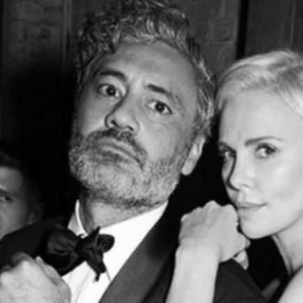 Taika Waititi's birthday wish for Charlize Theron will leave you in splits