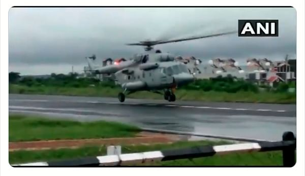 Madhya Pradesh: Bad weather forces two IAF choppers to fly back midway