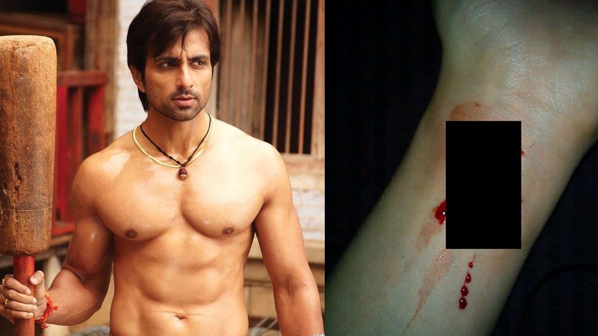 #PostponeJEE_NEETinCOVID: Twitter user who sent Sonu Sood fake wrist cut picture trolled