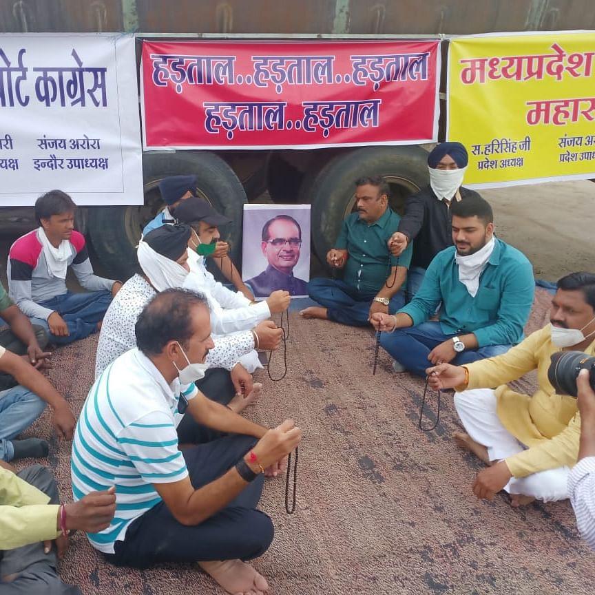 MP Truckers' Strike: Under pressure from strikers, transport minister Govind Singh Rajput agrees to meet association members