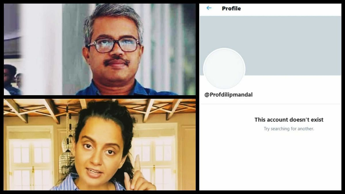 Kangana vs Professor Dilip Mandal: Why was Prof Mandal's Twitter account disappeared?