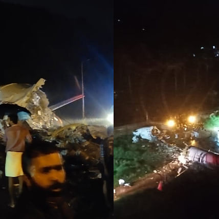 Calicut Air India Plane Crash: Pics and videos of shocking plane crash with 191 on board