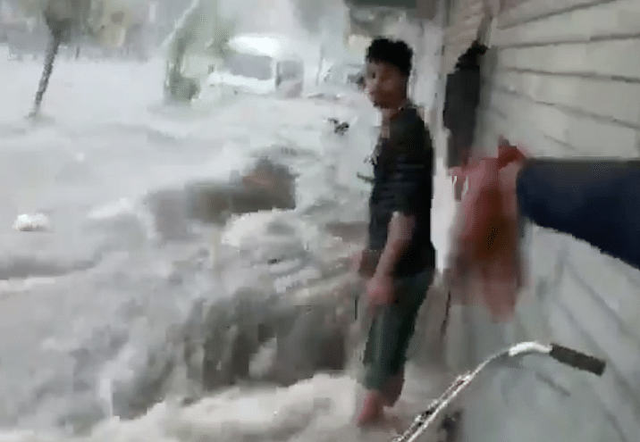 Watch: Jaipur submerged after torrential rains; Army, NDRF deployed