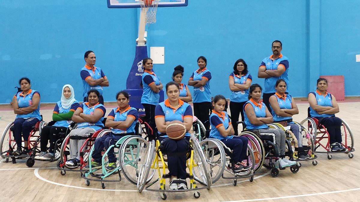 MDL support to Wheelchair Basketball Federation of India in 2020