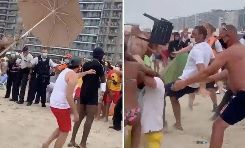 Loud music & rule breakers lead to Belgium beach brawl