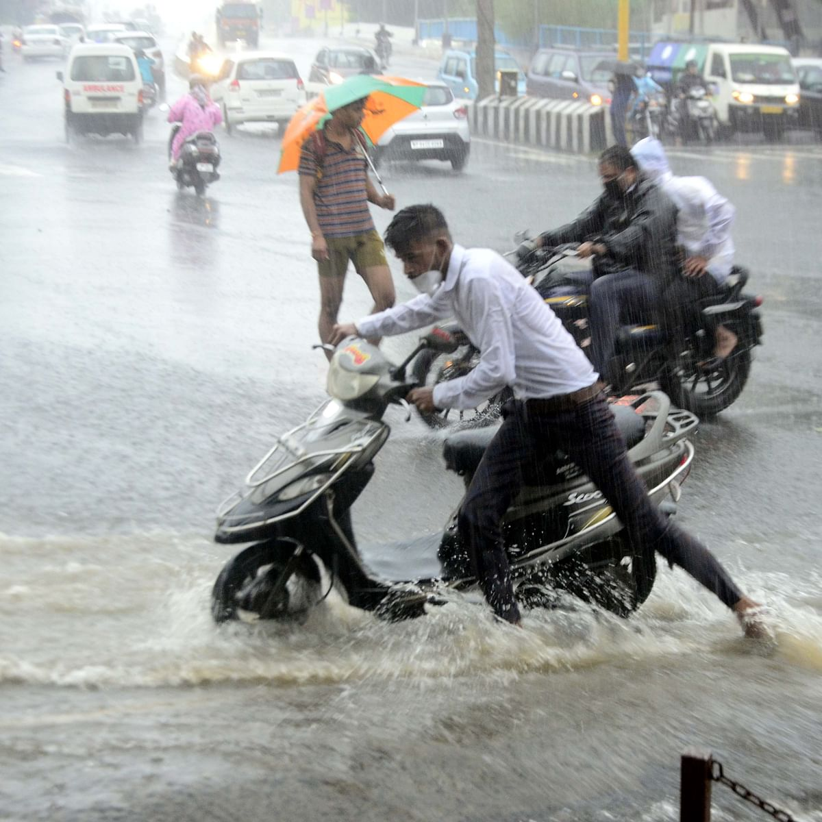 MP Weather Update: Incessant downpour in state, Bhopal reports 8cm of rainfall