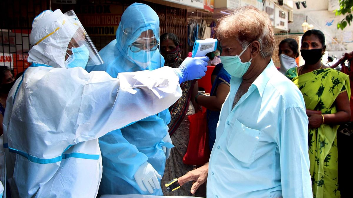 Coronavirus in India: With 54,044 new COVID-19 cases, tally crosses 76-lakh mark; active cases at 7,40,090