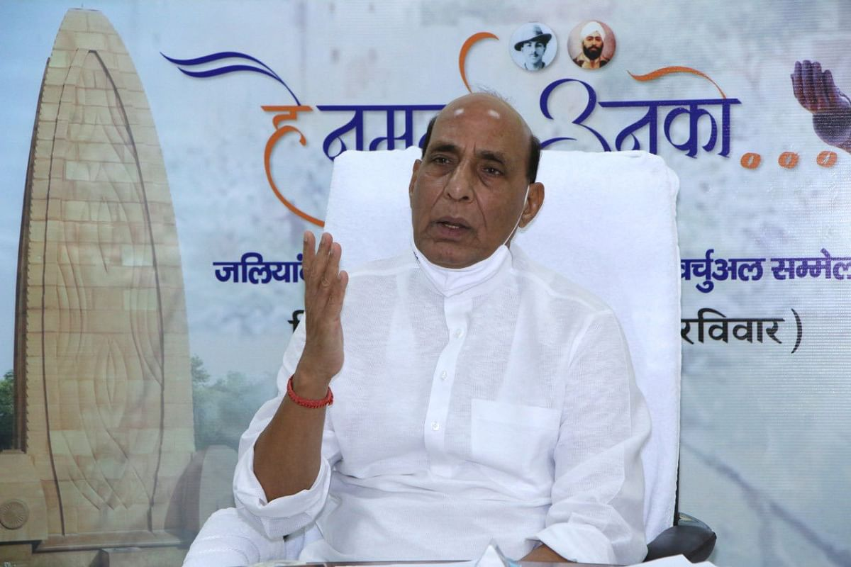 Defence Minister Rajnath Singh to launch 'Atma Nirbhar Bharat Saptah' today