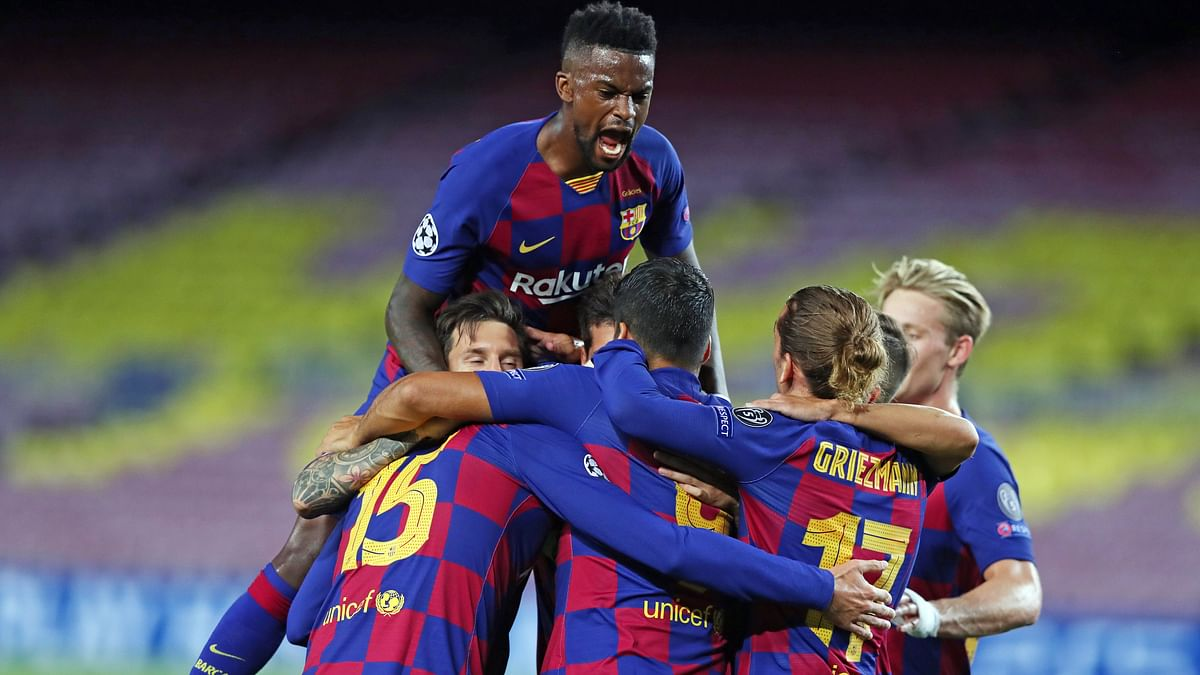 UEFA Champions League highlights: Barcelona secure quarter-final berth after win against Napoli - check out key stats from the game