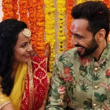 Choreographer Punit Pathak shares engagement ceremony photos