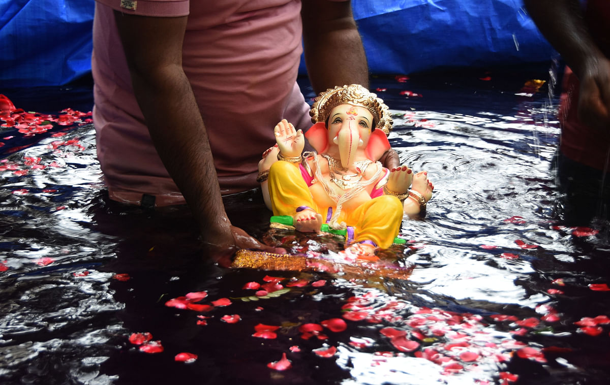 Ganesh Visarjan 2020: 35,000 cops to man city; 54 roads in city and suburbs to be closed