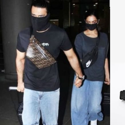Deepika's Rs 1,395 Nike fanny pack or Ranveer's Rs 1 lakh Fendi belt bag - which one would you pick?