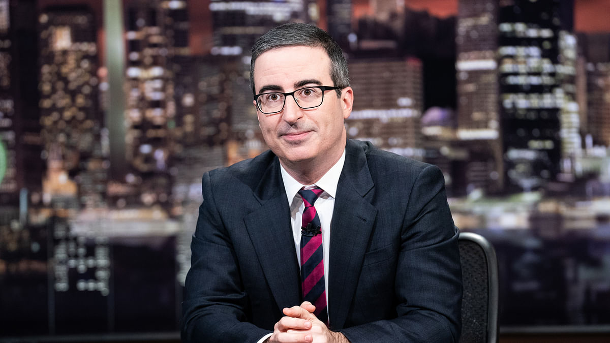 'Full of crap like you': Connecticut to name sewage plant after John Oliver